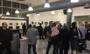 Opening of Painting Exhibition – Haim Bloomberg